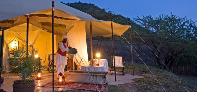 Cottar's Safari Lodge in Kenya
