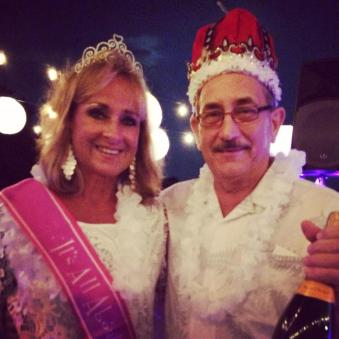 "Thank you to everyone who came out last night in their fabulous white attire!! And, thank you again to our generous sponsors, the night would not be possible without you. Congratulations to Mayor Rick and Sally DePhamphilis, voted our ""King and Queen of the Hop""! — at Linwood Country Club."