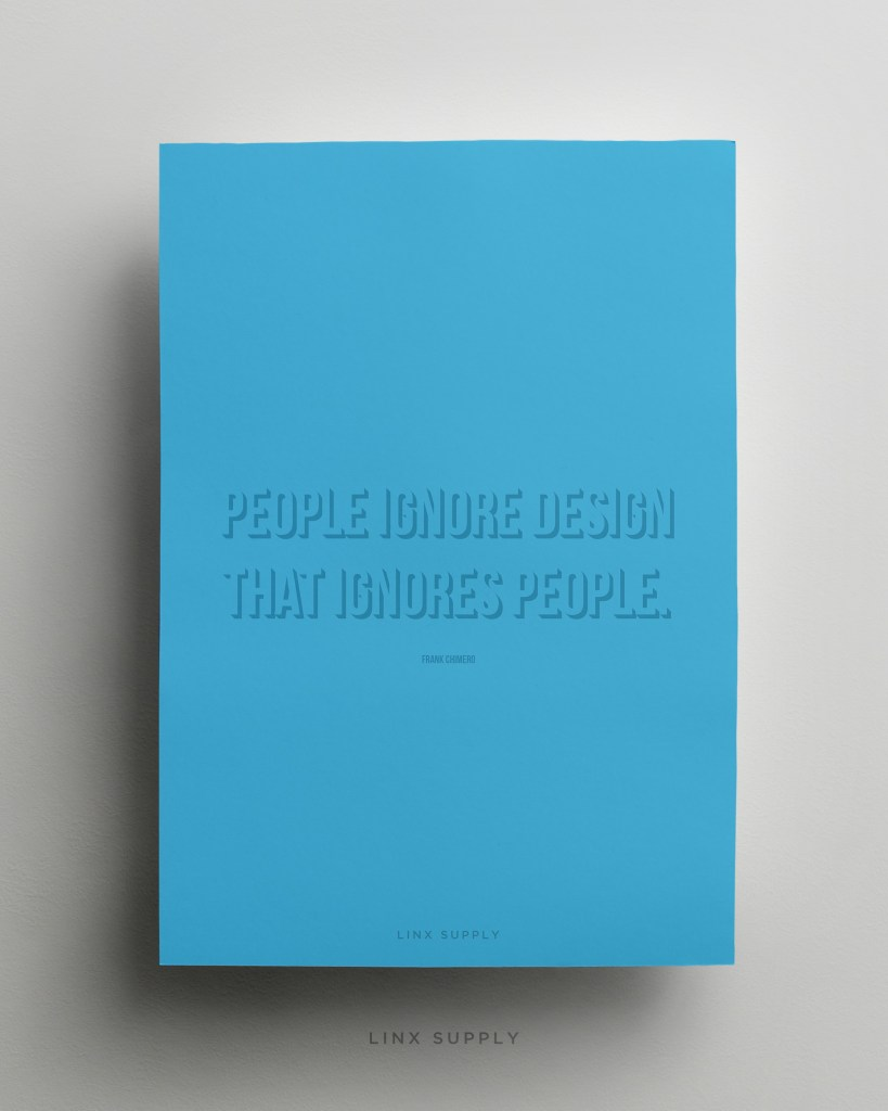 People ignore design mock
