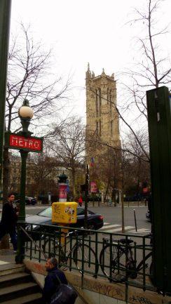 Chatelet, center of Paris