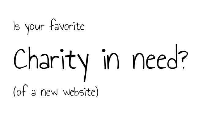 Is your favourite Cleveland charity in need of a new website?