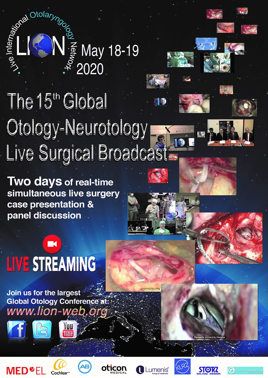 lion foundation 15th LION Broadcast May 18-19 2020 (live surgery education) LION 2020 May V1 1 1