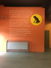 Poetry everywhere at Dublin Zoo