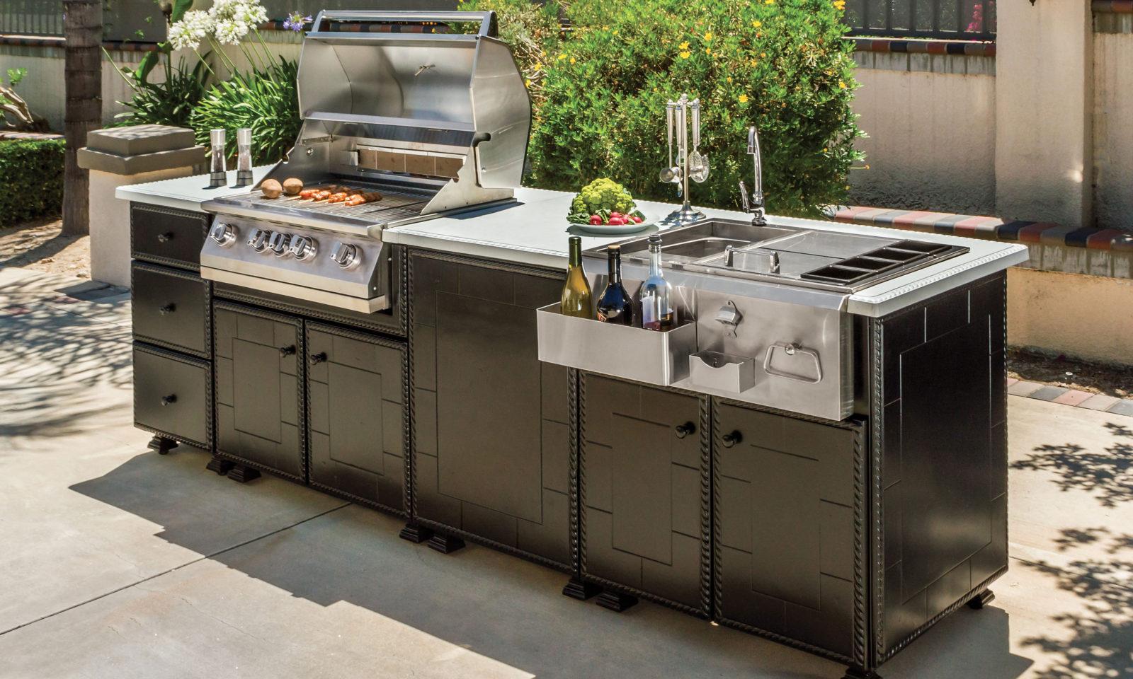 outdoor kitchen griddle discount chairs lion premium grills newsletter  december 2016 issue 39