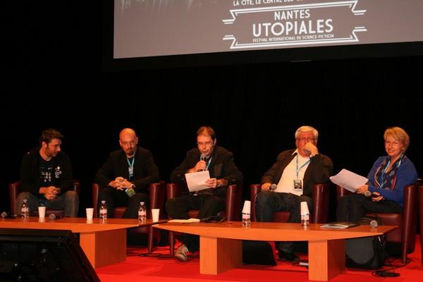 Vincent Gessler, LD, Antony Vallat, Lauric Guillaud, Natacha Vas-Deyres (photo ActuSF)