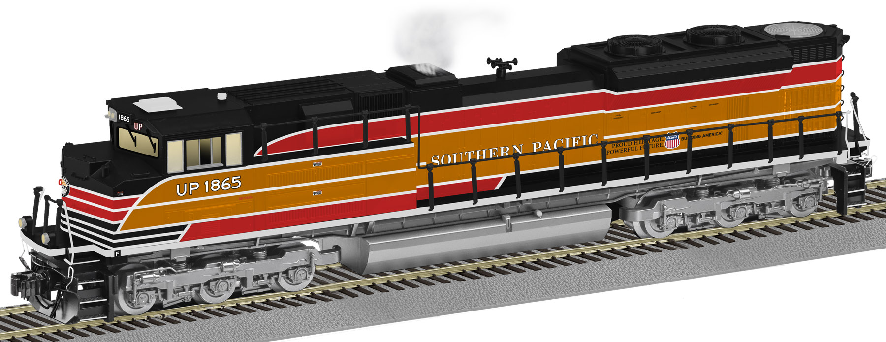 hight resolution of southern pacific