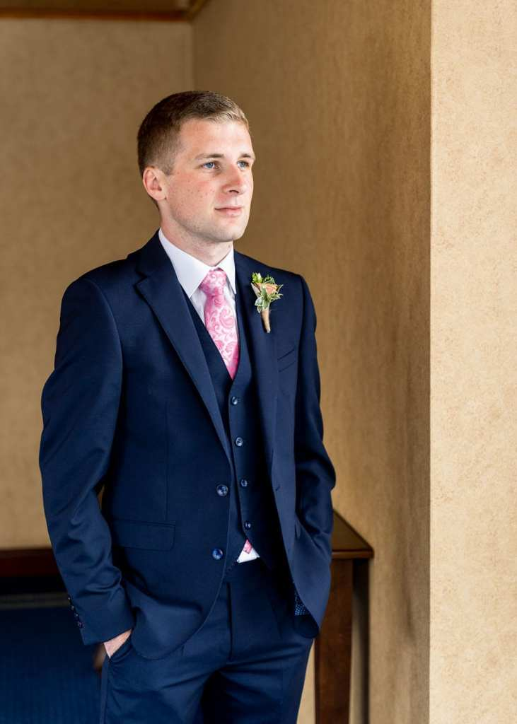 groom portrait northern ireland wedding photography