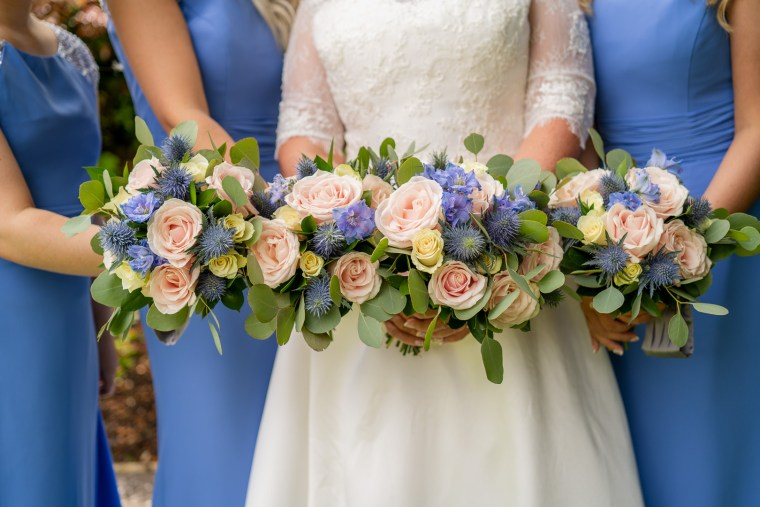 rosspark wedding bridal party bouquets