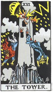 The Tower, Key 16, Waite-Smith