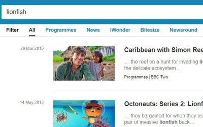 BBC News Lionfish Articles