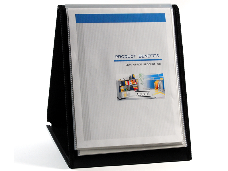 Presentation Easel Display Book Letter 20pocket Vertical