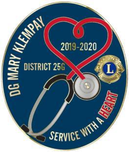 District 25G Pin