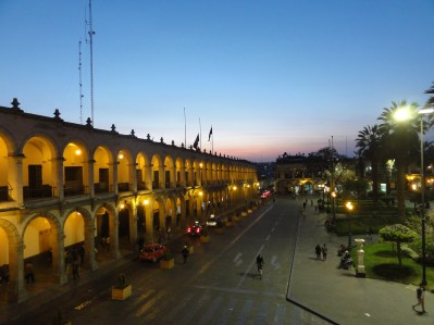 Arequipa by night