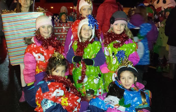 Squamish Santa Parade 2014