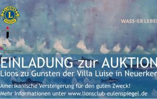 WASS-ER LEBEN - die neue Ausstellung der Villa Luise