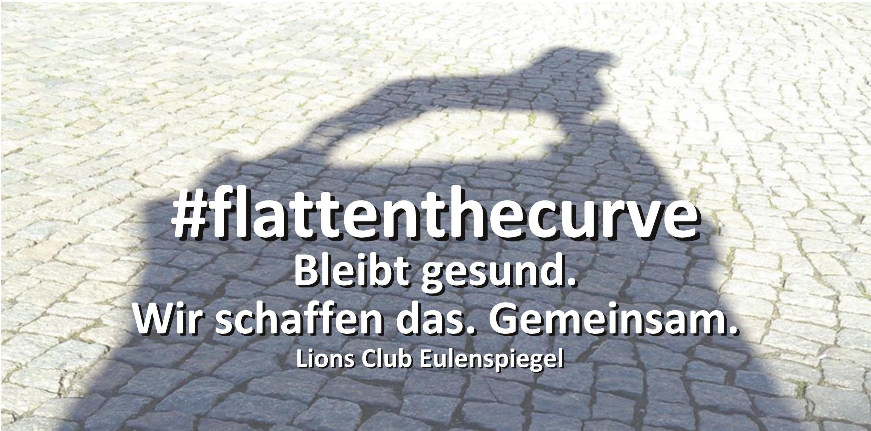 Lions Eulenspiegel Flatten the curve