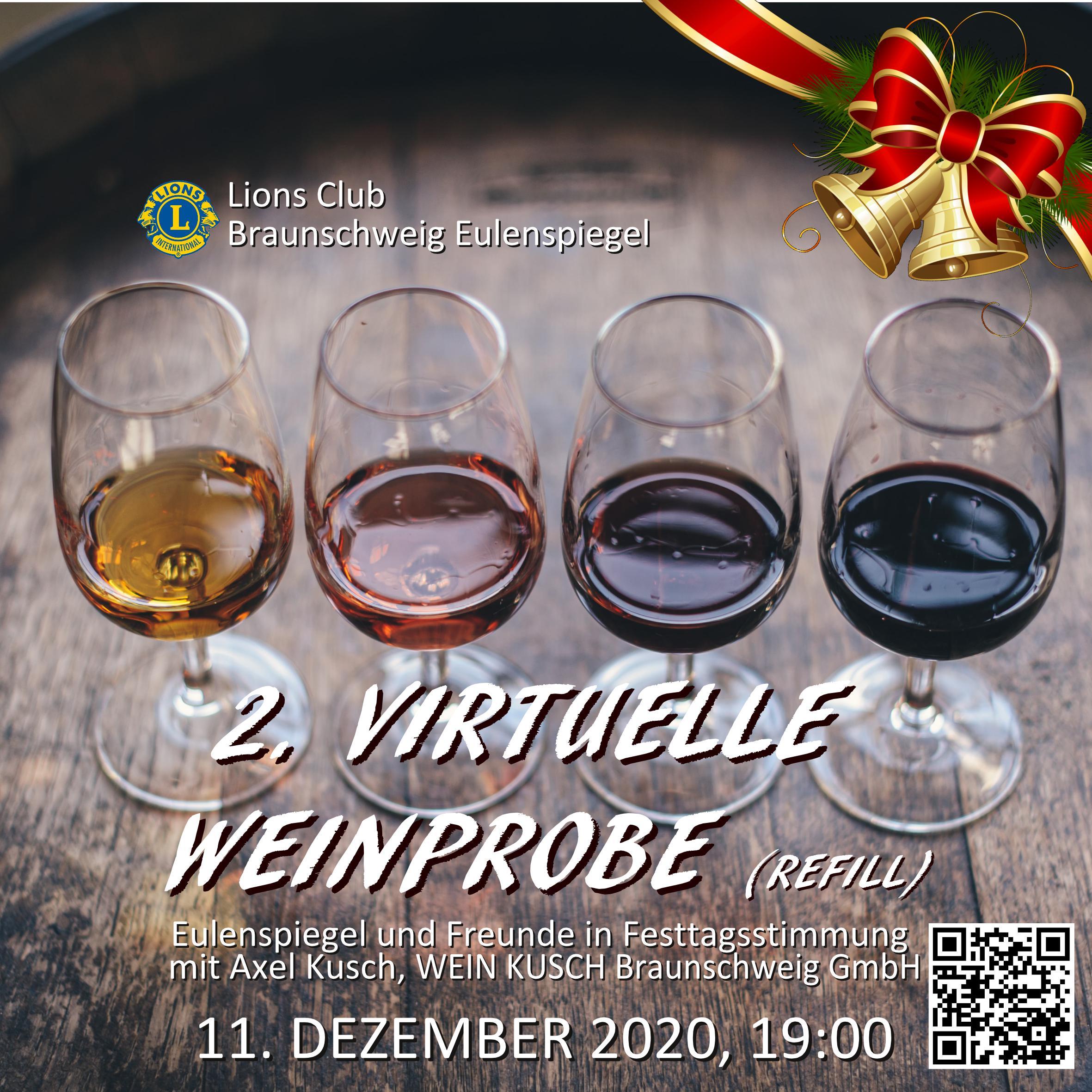 Lions Eulenspiegel Online Weinprobe Dezember