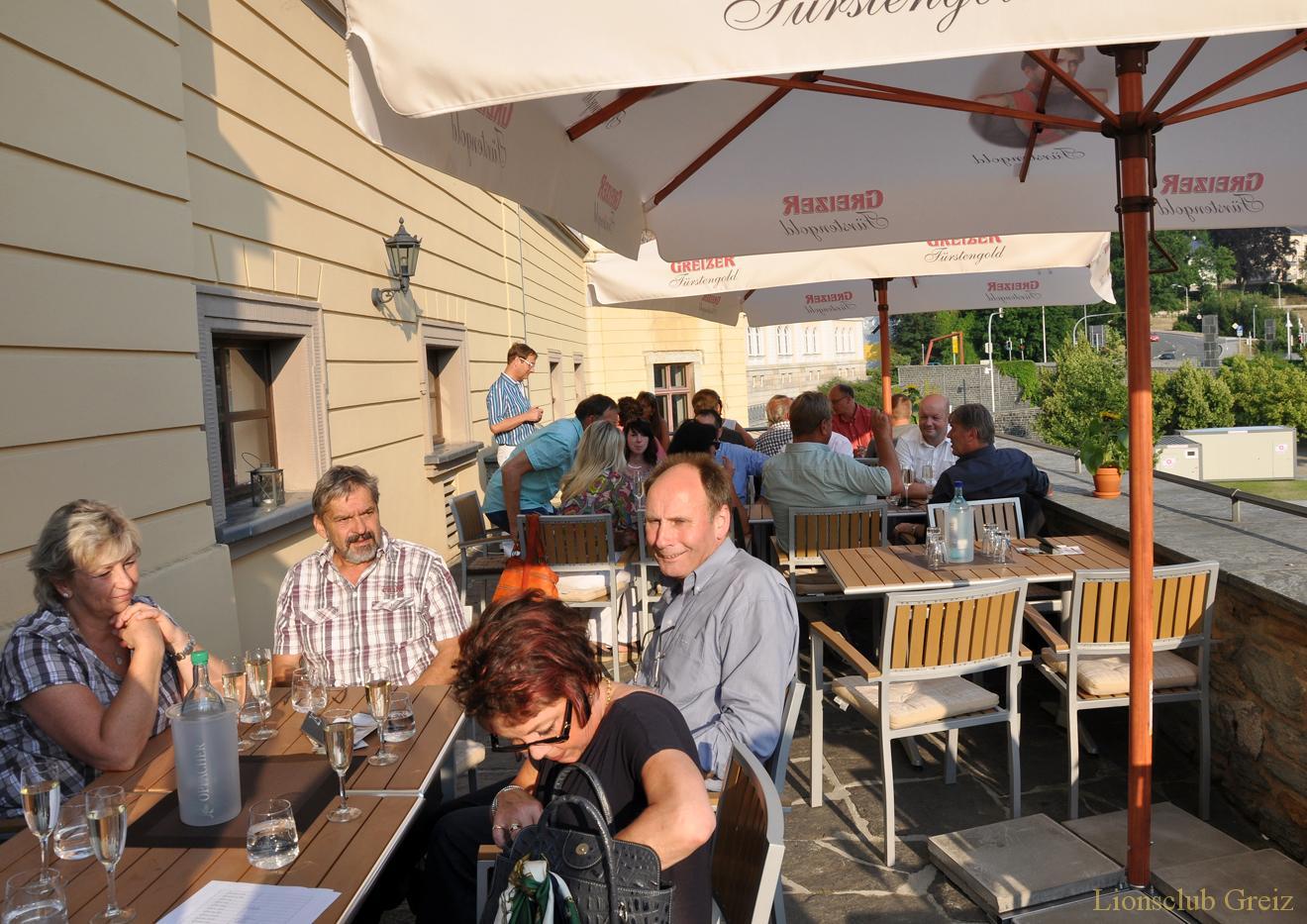 Mitgliederversammlung des Greizer Lionsclubs im Restaurant »Harmonie«