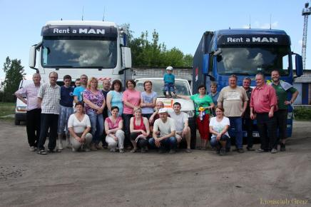 Hilfstransport nach Brest