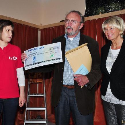 Lionsclub Greiz überreicht der Bildungseinrichtung 200 Euro