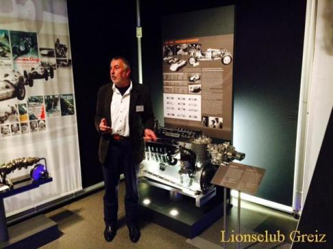 Lions Club Greiz besucht Horch-Museum in Zwickau