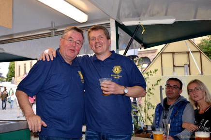 Greizer Lions Club: Viel Trubel am Stand