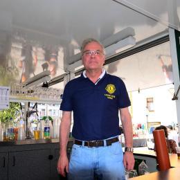 Der Lions Club Greiz präsentiert sich in der Baderei.