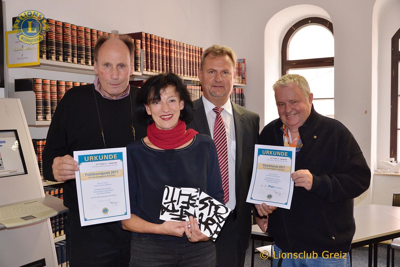 """Lions Club Greiz: Prämierung der Aktivity """"Resozialisierung von Häftlingen"""""""