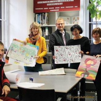 Lions Club: Jury tagt zum Friedensplakat-Wettbewerb: