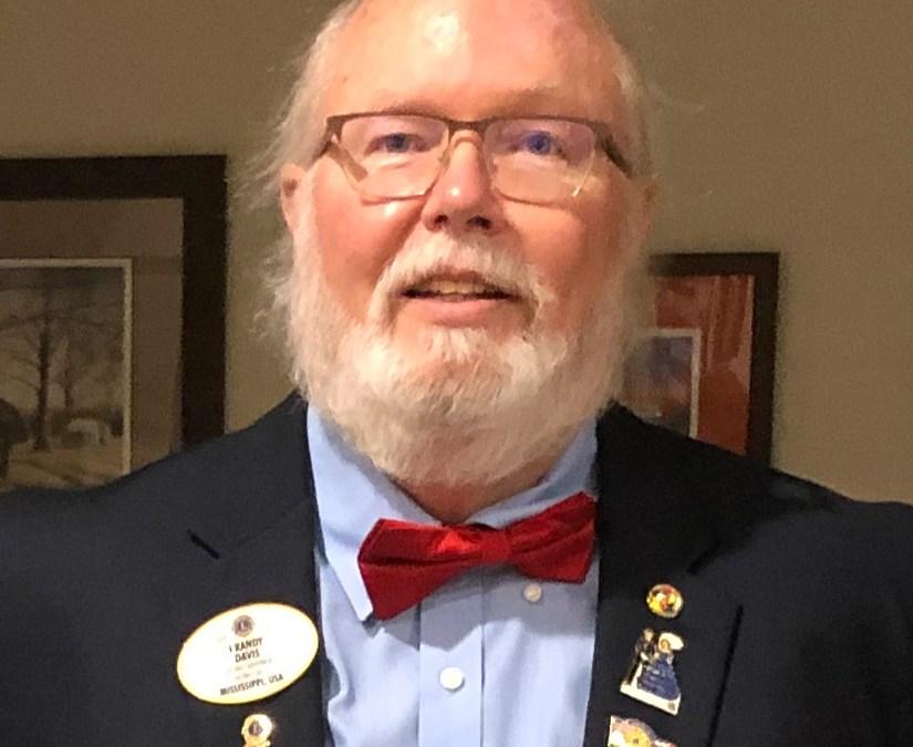 Randy Davis, District 30-S Governor is Guest Speaker