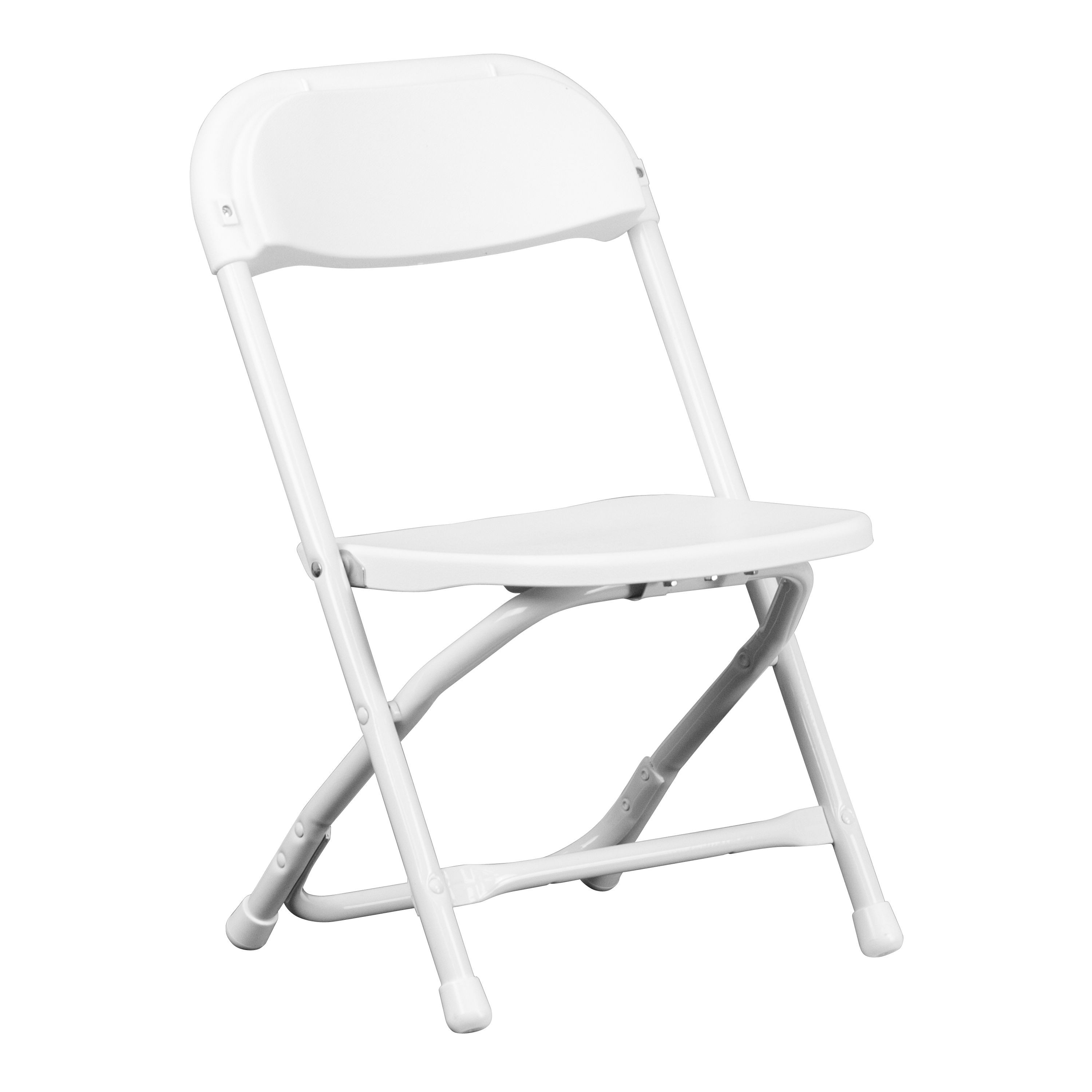 Folding White Chairs Flash Furniture Y Kid Wh Gg Kids White Plastic Folding