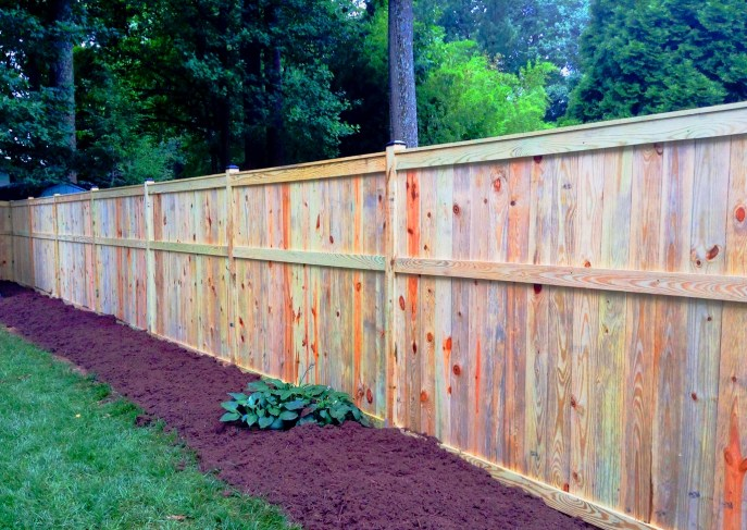Solid Board Treated Pine Vienna Fairfax County Northern Virginia by Lions Fence 4