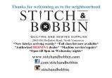 Ad: Stitch and Bobbin