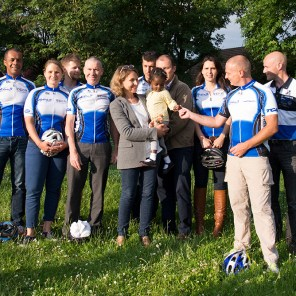 Famille d'Accueil, Josiane and Cyclistes