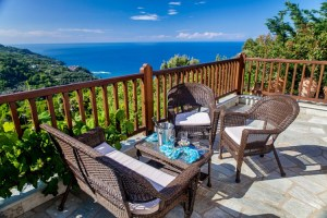 Aquamarine-Luxury Suite 5-Balcony view-PELION