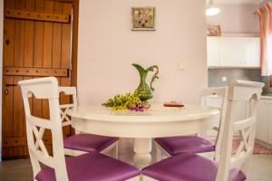 Suite 3 -VIOLET -Dinning place-Pelion