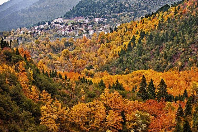 Autumn getaway in Pelion