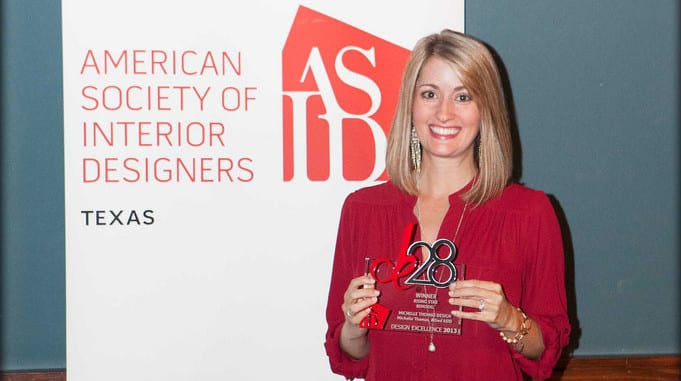 Austin Interior Designer Michelle Thomas Wins ASID Honor