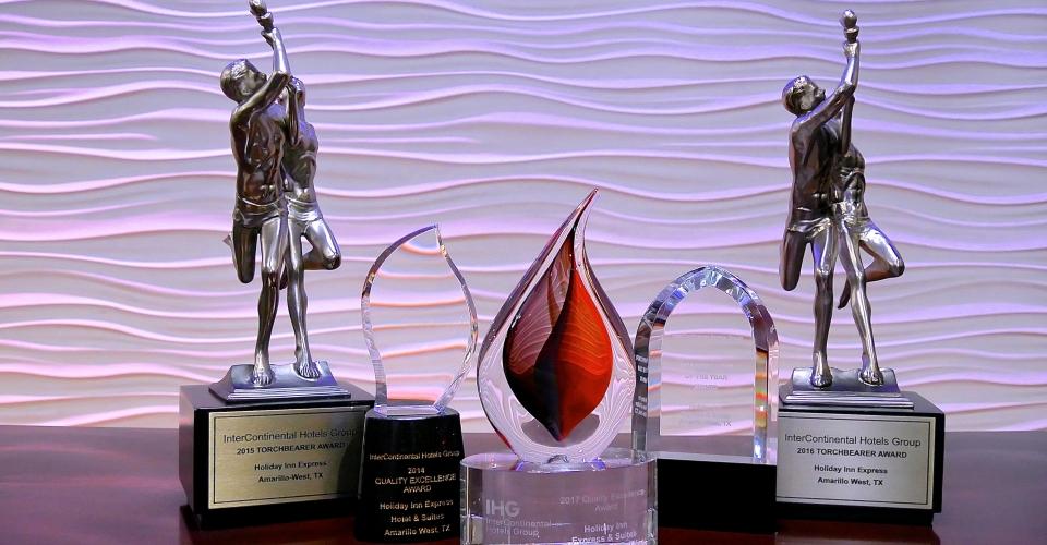 Holiday Inn Amarillo West-Awards