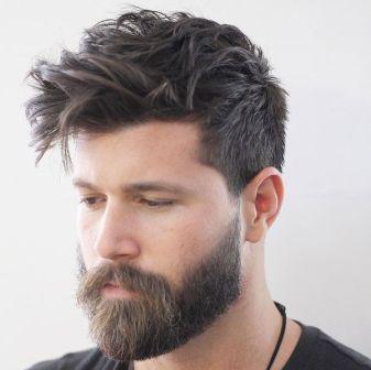 Cabelo Longo e Barba