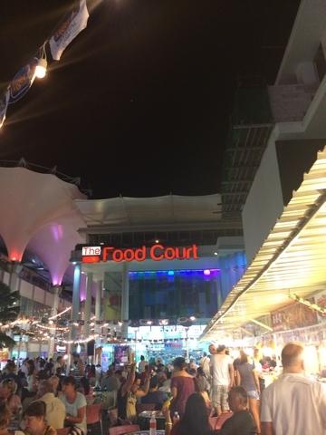 戶外food court