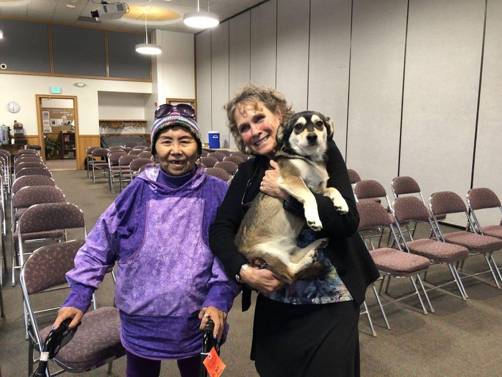 Mary Nunawak and Annie Boochever