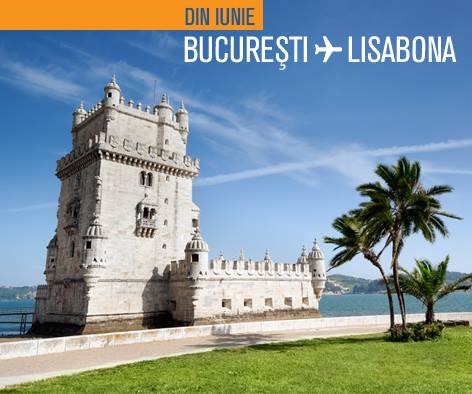 Blue Air Bucuresti-Lisabona