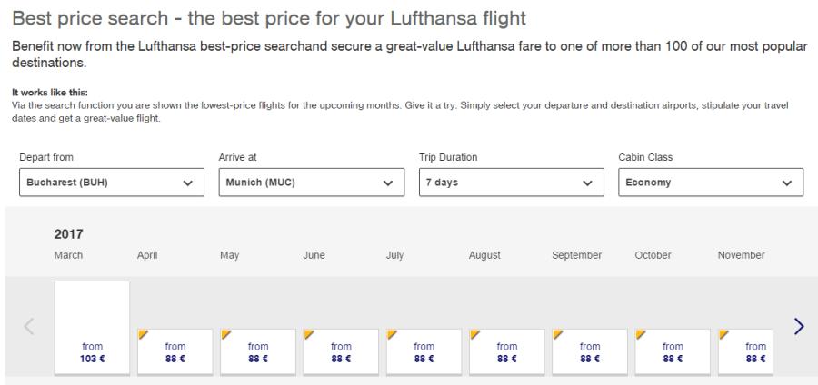 promoție-Lufthansa-Munchen
