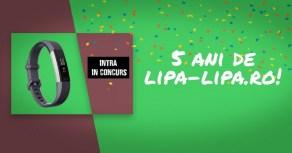 La cinci ani de Lipa Lipa câștigă o brățară inteligentă Fitbit Alta HR