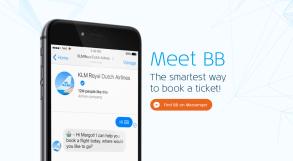 Rezervă bilete de avion KLM cu o simplă conversație pe messenger