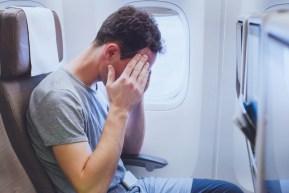 Experiențe neplăcute în zbor