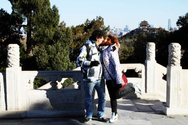 Beijing z2 7 parc Simona si Lucian