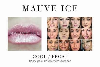 Mauve Ice - In stock now Distributor ID 334027
