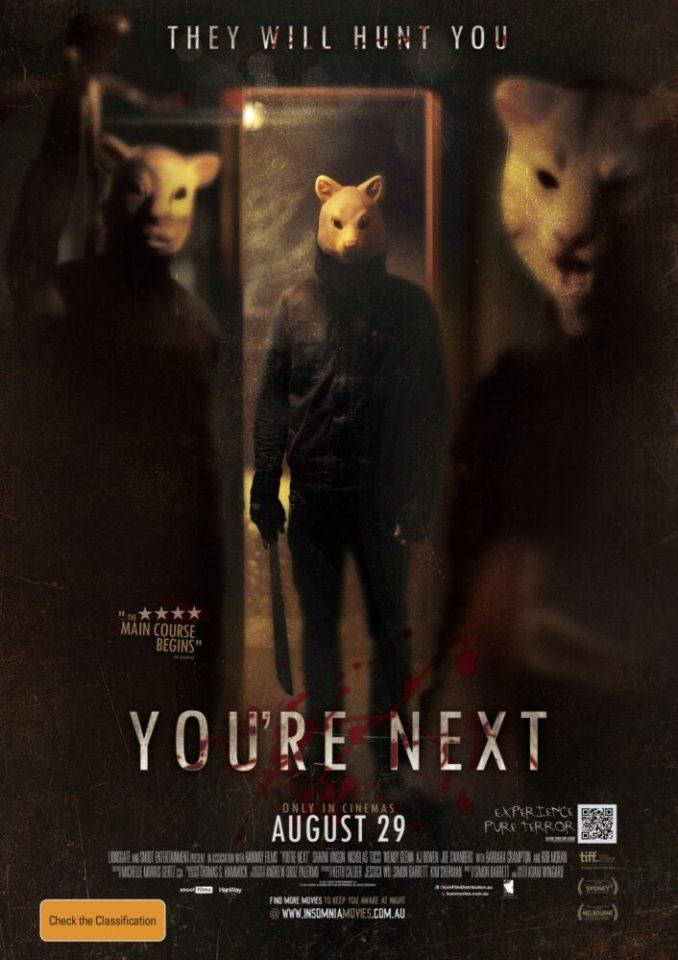 You're the next (A. Wingard, 2011)